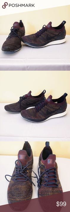 purchase cheap d07a6 037d9 AIR ZOOM MARIAH FLYKNIT RACER - Bordeaux Sz 10.5 Nike Air Zoom Mariah  Flyknit Racer MSRP