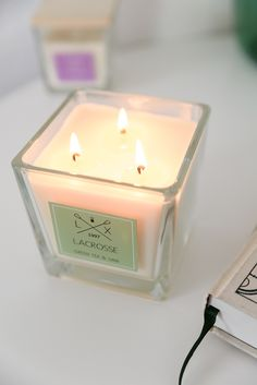 Scented candle with
