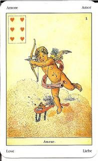 Sibilla Oracle (La Sibylle des Salons) Card Meanings – Golden Mousedeer Ace Of Hearts, Remember The Name, Cartomancy, Tarot Reading, Tarot Cards, Meant To Be, Salons, Website, Altar