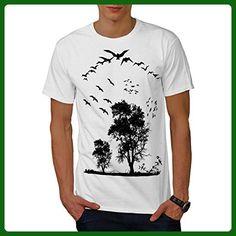 Bird Freedom Fly Men XXL T-shirt | Wellcoda - Animal shirts (*Amazon Partner-Link)