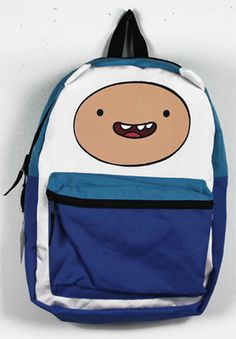 Adventure Time backpack  -  Mochila Hora de Aventuras