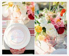 vibrant floral arrangements - poppies, peonies, ranunculus #camillestyles #pink