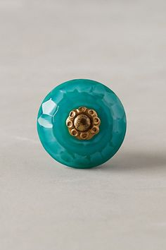Faceted Erabella Knob #anthropologie...perfect for my new-to-me old school dresser