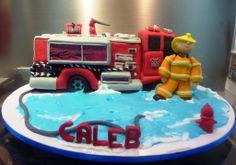 firetuck cake