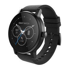 SMA-09 Pulsmesser Smart Uhr Bluetooth 4,0 Smartwatch Push-nachricht Stimme Rufen Uhr Telefon Gesundheit Tracker Sportuhr //Price: $US $58.40 & FREE Shipping //     #smartwatches