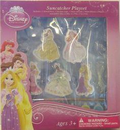 Disney Princess - Sun Catchers ** Learn more @ Art And Craft Materials, Sun Catcher, Creative Kids, Program Design, Craft Kits, Paint Brushes, Game Art, Art For Kids, Arts And Crafts