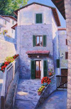 Tuscany  Oil cm. 20X30