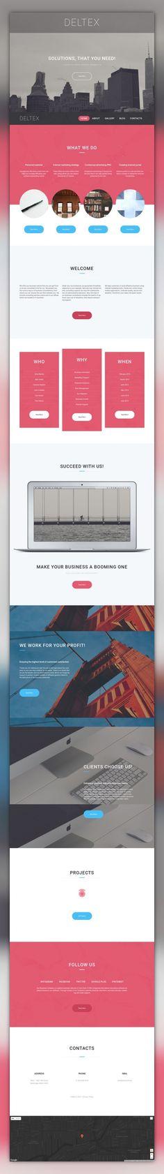 Deltex WordPress Theme CMS & Blog Templates, WordPress Themes, Business & Services