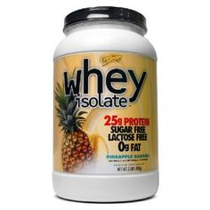 Whey Isolate, Lactose Free, Drink Bottles, Sugar Free, Health And Beauty, Pineapple, Protein, Banana, Amazon