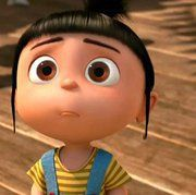 Love Despicable Me! Agnes is so cute  Can't wait to see Despicable Me 2!!!