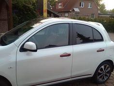 Nissan Micra Autositzbezüge nach Maß, Lederlook gesamt Variante #Nissan #Micra #Tuning