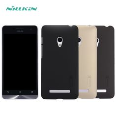 Asus Zenfone 5 Case Nillkin Frosted Shield Case for Asus Zenfone 5 A500CG A501CG Back Cover Gift Screen Protector