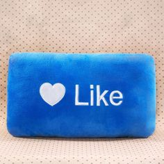 Like Button Pillow - Social and emoji pillows!