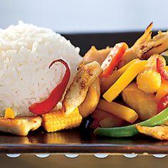 Nopea broileriwokki Potato Salad, Potatoes, Ethnic Recipes, Food, Potato, Meals, Yemek, Eten