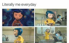 That's a mood Coraline Theory, Coraline Art, Coraline Jones, Disney And Dreamworks, Disney Pixar, Coraline Aesthetic, Laika Studios, Tim Burton Characters, Stop Motion