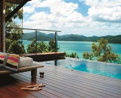 Private Plunge Pool at Windward Pavilion Qualia, Hamilton Island #TheWhitsundays