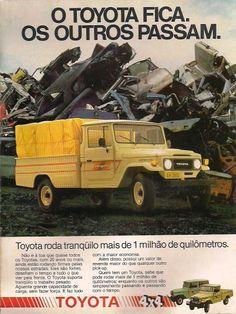 Propaganda Toyota Bandeirante | #CARROCULTURA
