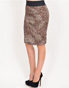 ΦΟΥΣΤΑ ΛΕΟΠΑΡ ΕΛΑΣΤΙΚΗ ΜΙΝΙΤΙ.. Sequin Skirt, Fall Winter, Sequins, Animal, Skirts, Fashion, Moda, Fashion Styles, Skirt