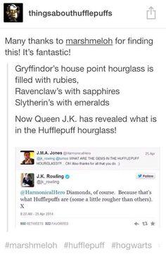Hufflepuff hourglass #puffpride