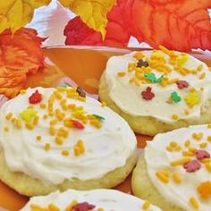 OK, I know I'm supposed to be eating healthy, but these just look too good to pass up! Ugh!! Temptation, they name is MUD! Soft Frosted Sugar Cookies Allrecipes.com
