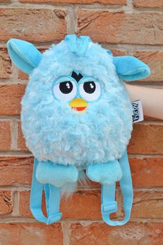 Furbyyyy. Amazing 90s super soft Furby plush backpack with adjustable straps. In great condition.  Bag is approx. 9 inches high and 8 inches