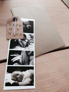 Invitation navngivning diy foto stempler