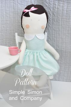 A Doll Pattern - free and with tutorial