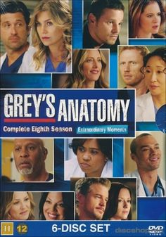 Available in: DVD.This set serves up every episode from the eighth season of Grey's Anatomy, the hit ABC medical series starring Ellen Pompeo that Grey's Anatomy, Anatomy Grey, Preston, Greys Anatomy Season 8, Medical Series, Justin Chambers, Abc Studios, Jackson, Dvd Film