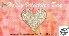 Hand Touched Crafts Home Page. We are dedicated to promoting handmade artistic activities, selling fine arts and hobby draft supplies online. Art And Hobby, Happy Valentines Day, Home Crafts, Paintings, Fine Art, Activities, Artist, Quotes, Handmade