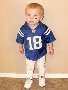 Halloween Costume - Peyton Manning! Colts Football Player!
