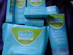 Computergirl's Musings review by Witch Blemish Stick Witch Blemish Pen Witch Cleansing and Toning Wipes Witch Gentle Exfoliating Face Wash
