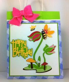 Gift Bag made with Cricut Kate's ABC