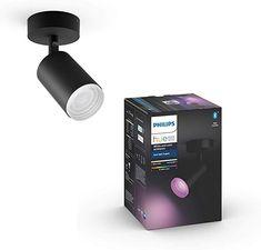 Bin begeistert Beleuchtung, Innenbeleuchtung, Spotleuchten & Leuchtensysteme, Deckenspots Bluetooth, Philips Hue, Alexa Echo, Lighting, Products, Image, Light Bulb Vase, Shades Of Black, Color