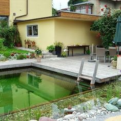 Swimming Pond in Tyrol