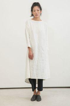 linen dress from ES, $245