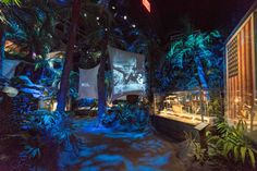 The scene shifts quickly from gallery to gallery. You're suddenly thrust into the island palm jungles of Guadalcanal, off the northeast coast of Australia in the middle of the Pacific Ocean where the first amphibious landing of WWII occurred, and our troops were vastly underprepared for the resiliency and size of the Japanese forces, and the lengthy battle that lay ahead for them in treacherous conditions. You can feel the rocky dirt under your feet, curve your way through the jungle, as…