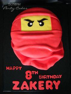 Ninjago birthday cake for one of twin boys!