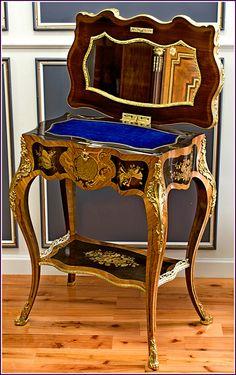 Antique Furniture, French Antiques, Table, Home Decor, Decoration Home, Room Decor, Tables, Home Interior Design, Desk