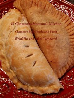 What could be better than eating Buchi Buchi (Fried Pies) and Pastit (Turnovers)? Making both of these pastries from one recipe, that's what! Buchi Buchi, is a flakey fried pie, laced with …