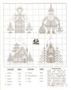 O Christmas Tree • 2/4 Charts x 4