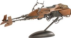 Star Wars:  Speeder Bike $299.99!!!  Click on the pictures until you get to the main page at Sideshow for more details, pics, and to pre-order now!
