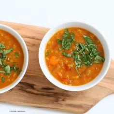 Moroccan Lentil Soup Recipe from The Abundance Diet. Review + Giveaway! - Vegan Richa