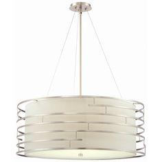 Philips Forecast Lighting Labyrinth 4 Light Drum Pendant | AllModern