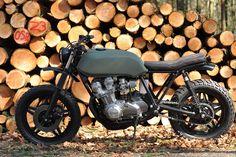 Honda CB 750 độ Cafe Racer - Tracker - Scrambler - Bobber đẹp nhất