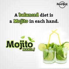 Relish on lip-smacking Bacardi Mojitos like Cucumber, Grape, Kiwi, Mango, Green Apple and more. #MojitoMania