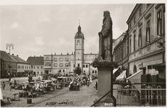 náměstí - trh