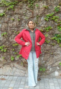 Look Casual – Trench Coat Colorido