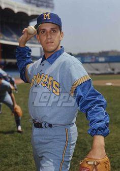 1970 Topps Baseball Original Color Negative. George Lauzerique BREWERS