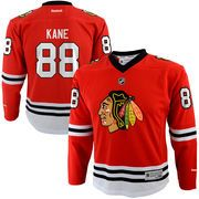 Youth Chicago Blackhawks Patrick Kane Reebok Red Replica Player Hockey Jersey