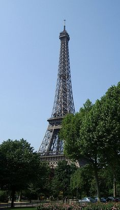Eiffel Tower by chez loulou, via Flickr